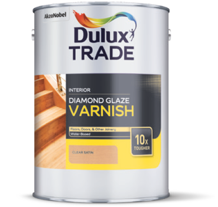Interior Woodcare: Dulux Trade Diamond Glaze Varnish