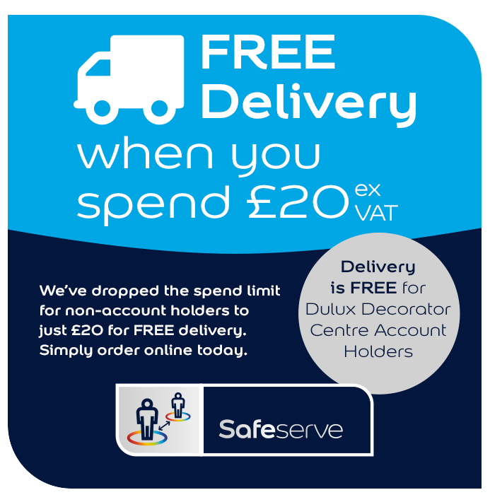 Dulux Decorator Centre Free Delivery