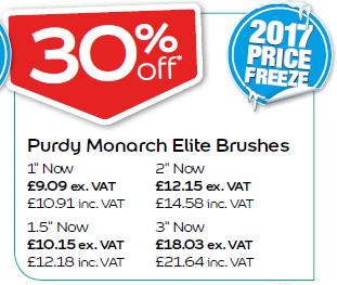 Purdy Monarch Elite Brushes