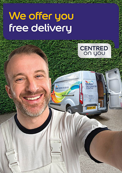 Free delivery for all our trade customers