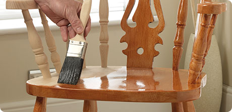 varnish chair