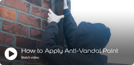 how to aplpy anti vandal paint