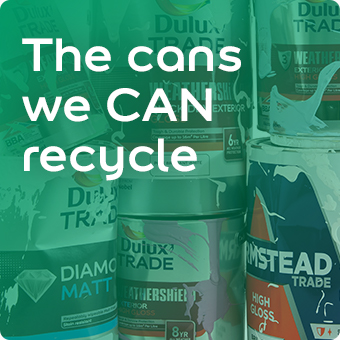 The cans we can recycle