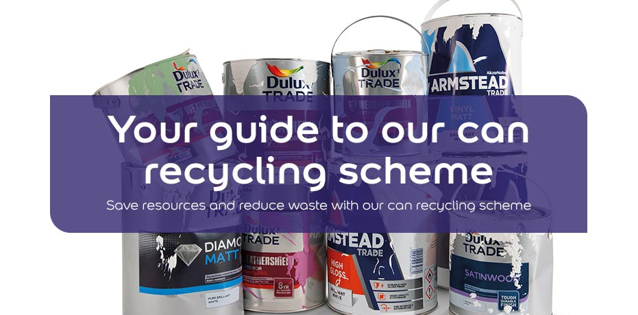 Your guide to our can recycling scheme