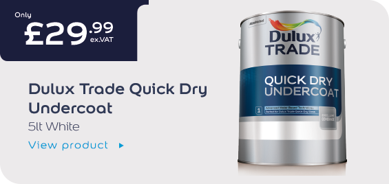 Dulux Trade Quick Dry Undercoat Offer