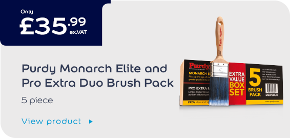 Purdy Monarch Elite & Pro Extra Brush Twin Pack