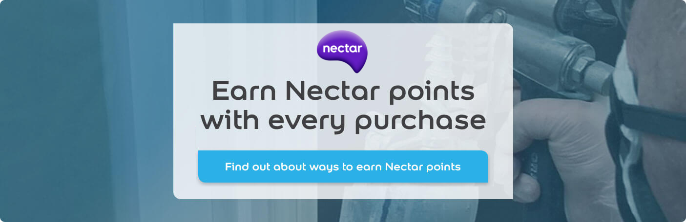 Earn nectar points with every purchase