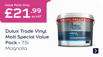 Dulux Trade Vinyl Matt Special Value Pack - Mag 7.5l