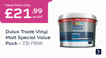 Dulux Trade Vinyl Matt Special Value Pack - PBW 7.5l