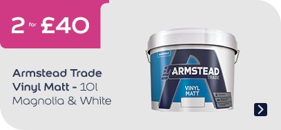 Armstead Trade Vinyl Matt White / Mag 10L - 2 for £40
