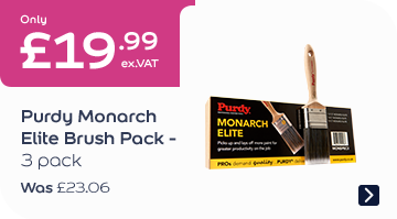 Only £19.99 Purdy Monarch Elite Brush Pack 3pk Was £25.06