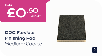DDC Flexible Finishing Pad Medium/Coarse