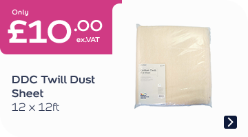 DDC Twill Dust Sheet 12x12FT
