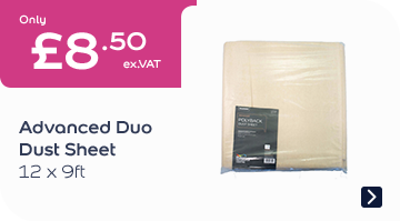 Advanced Duo Dust Sheet 12x9FT