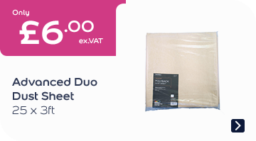 Advanced Duo Dust Sheet 25x3FT
