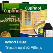 Wood Filler Treatment & Fillers