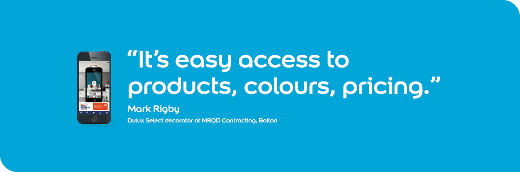 It's easy access to products, colours, pricing