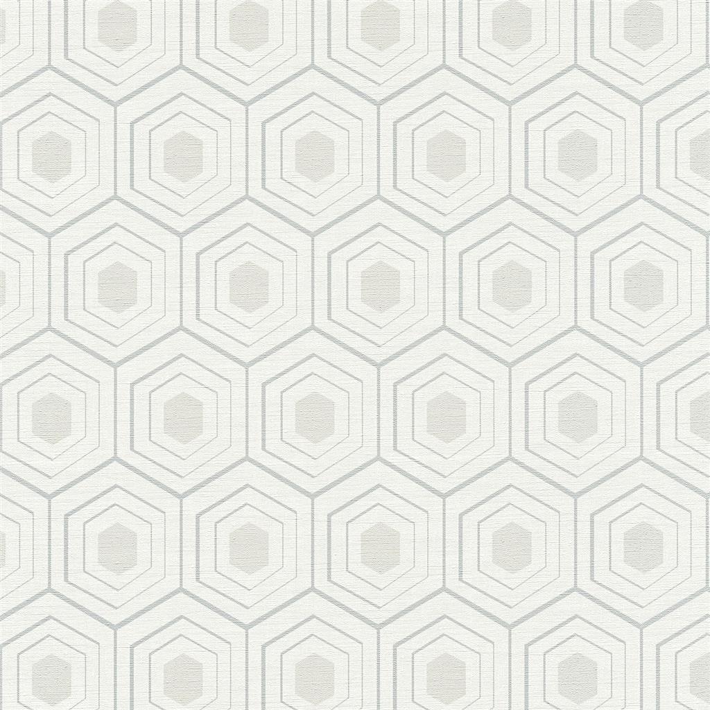 Galerie Honeycomb Pattern Wallpaper Dulux Decorator Centre